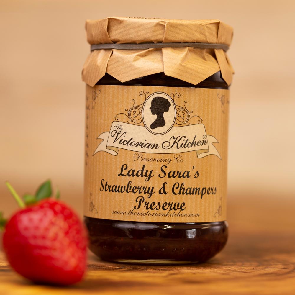 Lady Sara's Strawberry & Champers Preserve