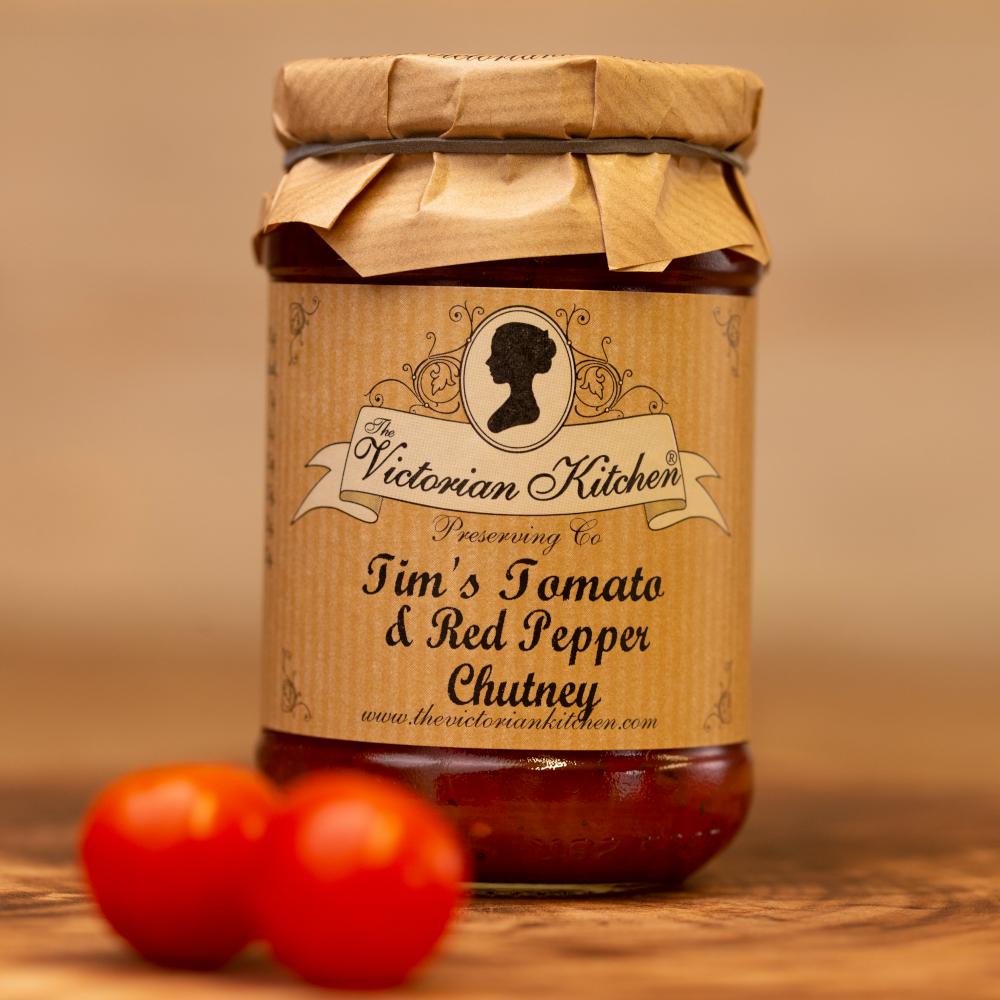 Tim's Tomato & Red Pepper Chutney