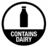 This product contains dairy