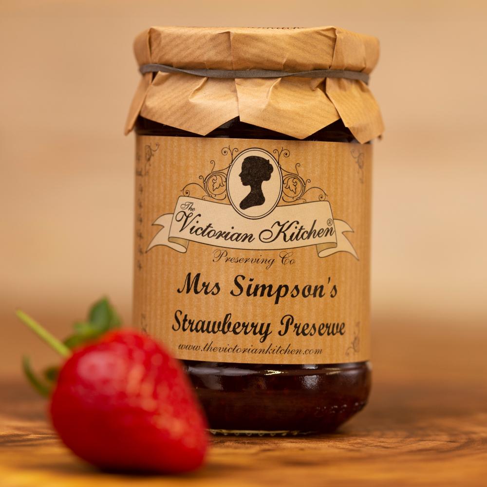 Mrs Simpson's Strawberry Preserve